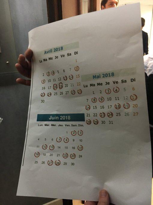 Calendrier Des Greves Sncf Jusqu Au Mois De Juin 2018