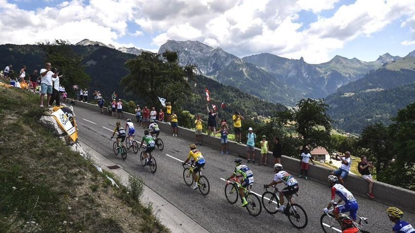 La 20eme étape raccourcie — Tour de France