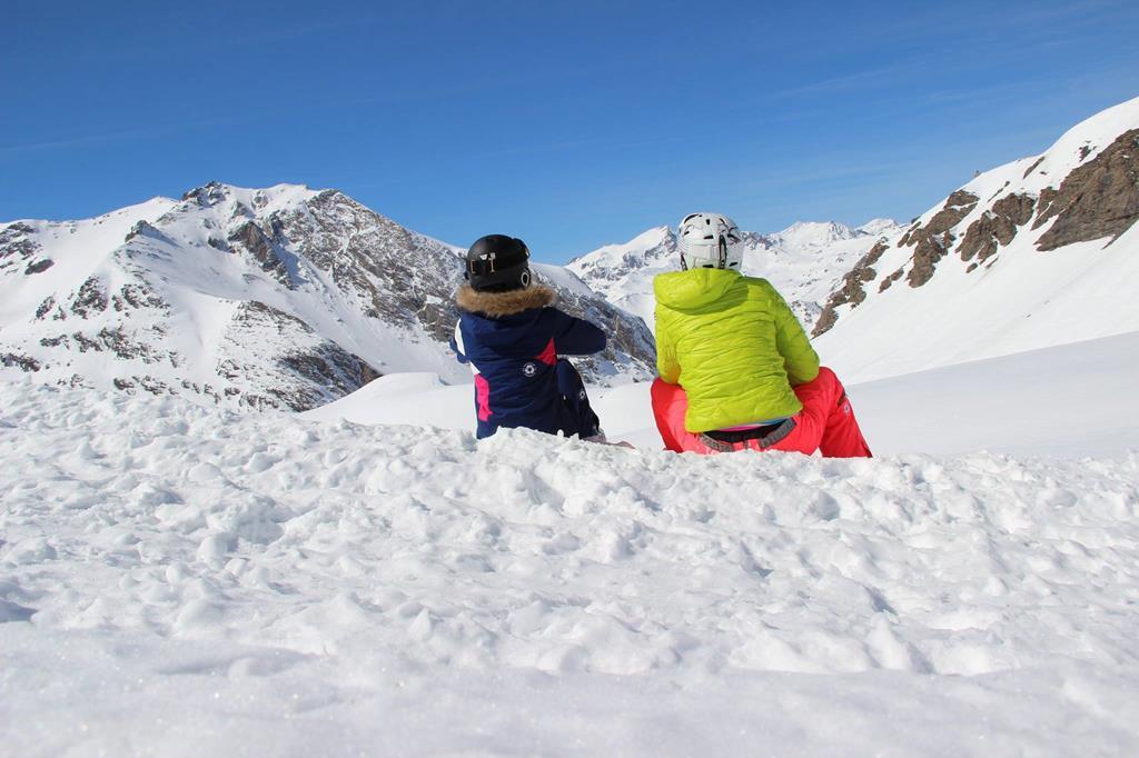 Le ski en famille ça se partage !