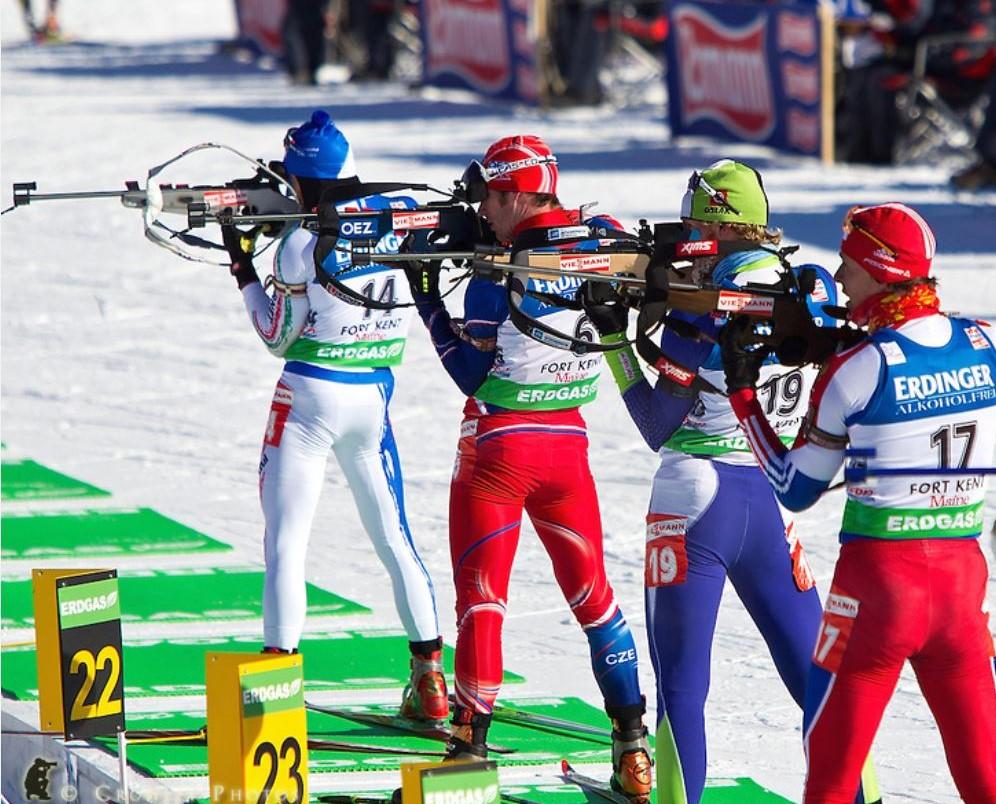 Biathlon tir debout en coupe du monde