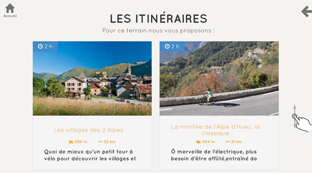 L'application web a déjà conquis Oisans Tourisme