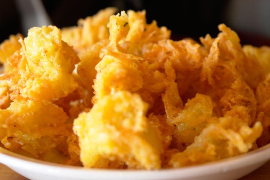 Les beignets de pomme de terre, atypique des Savoies