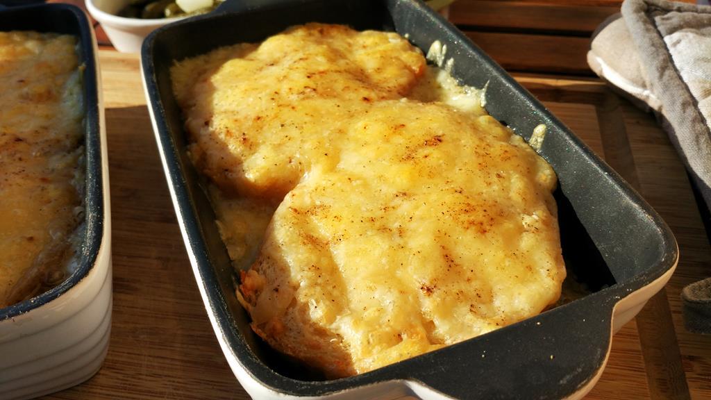 Recette croûte au fromage