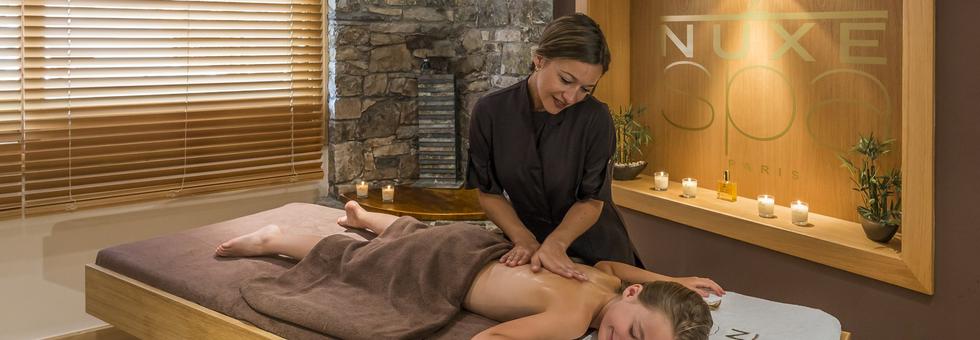 Un massage spécifique à vos besoins réalisé par une esthéticienne