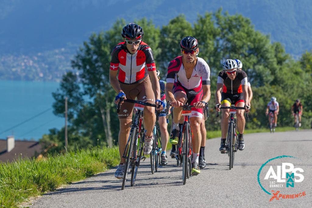 Un paysage magnifique pour un parcours long pour l'épreuve du vélo