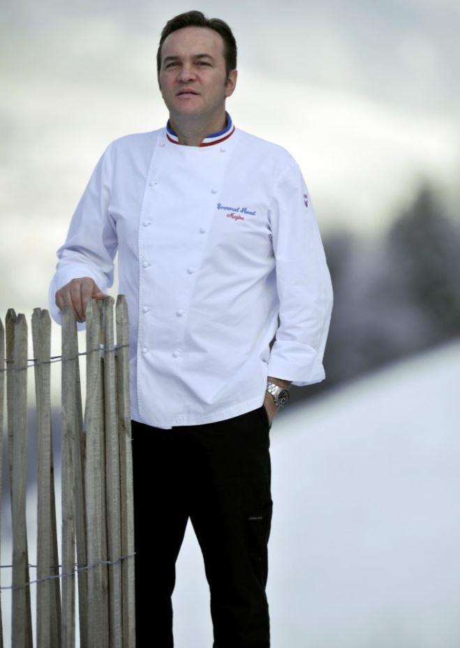 Portrait d'Emmanuel Renaut chef au Forestier