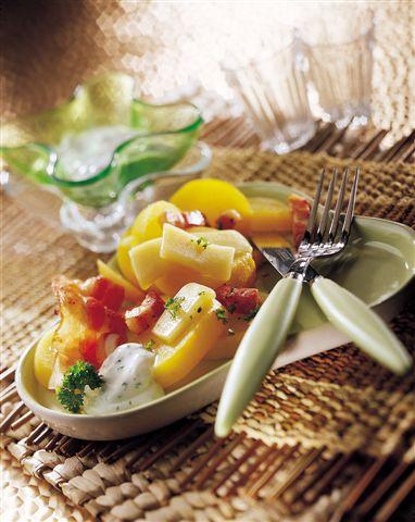 Le Beaufort, fromage de Savoie, se décline en salade