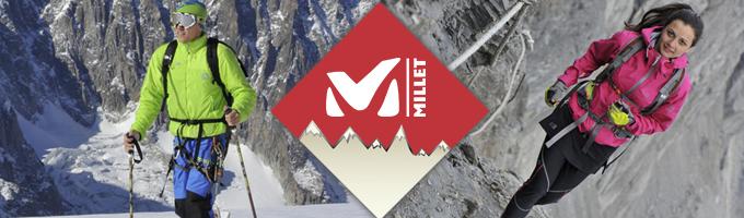 Millet : un équipementier français pour les alpinsites