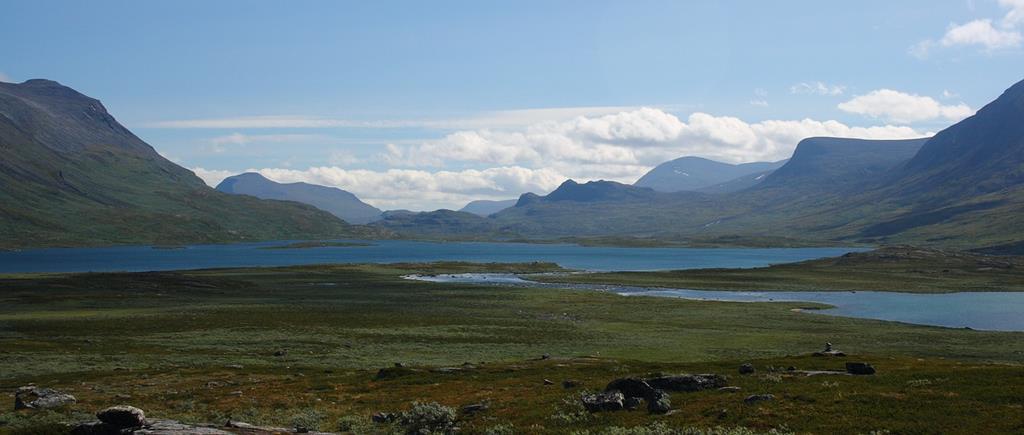 Le Kungsleden ou king's trail est le plus long de suède