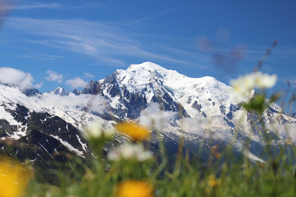 Le trek autour du mont blanc