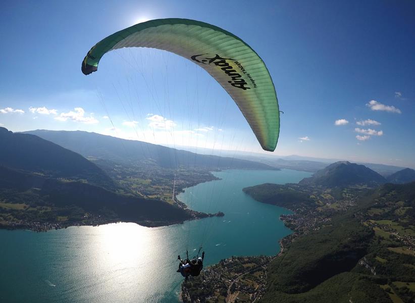 Bâpteme en parapente en Savoie et Haute Savoie