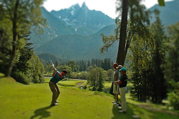 Jouer au golf de Chamonix, Haute Savoie