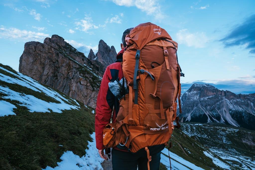 La marque Ospray, idéal pour le trek et la randonnée