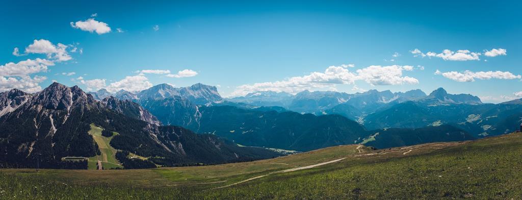 Le paysage féérique des Alpes