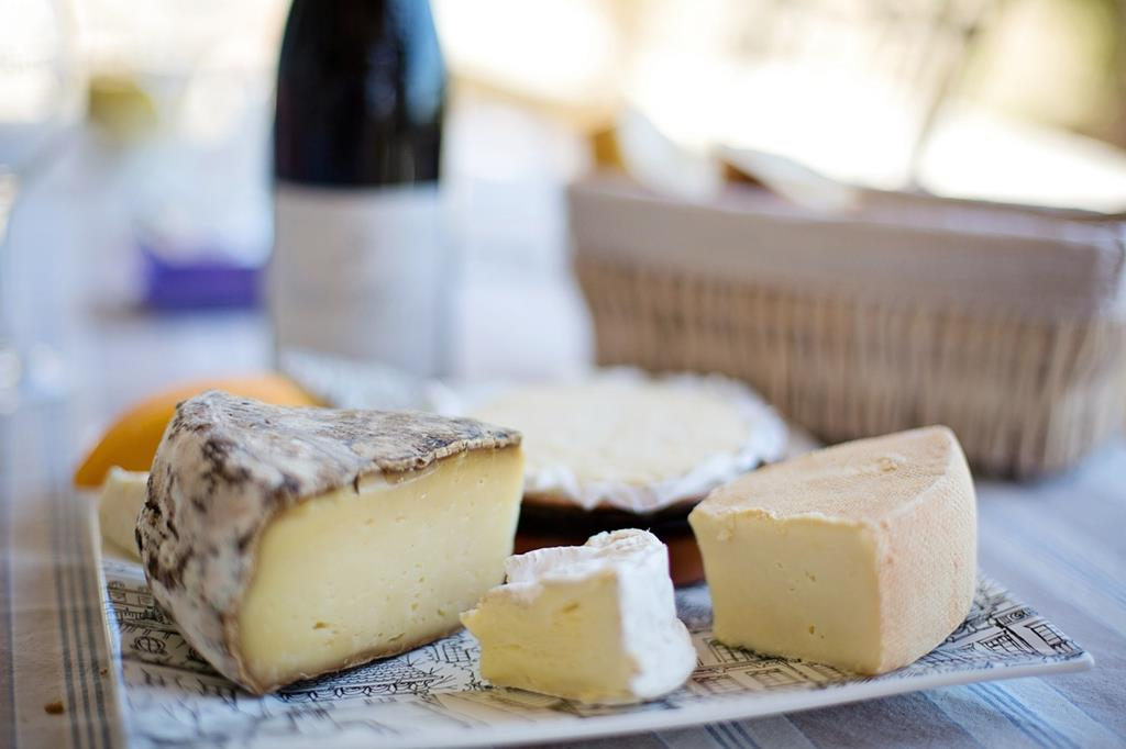 Le plateau de fromages a aussi sa place en été