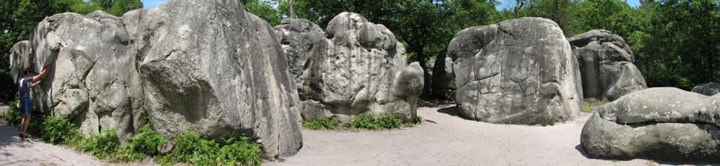 Le spot de Fontainebleau