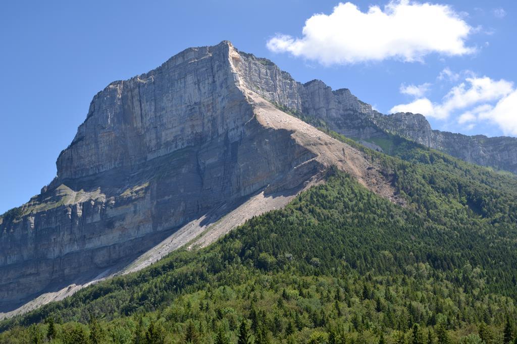 Le Mont Granier près de Chambéry